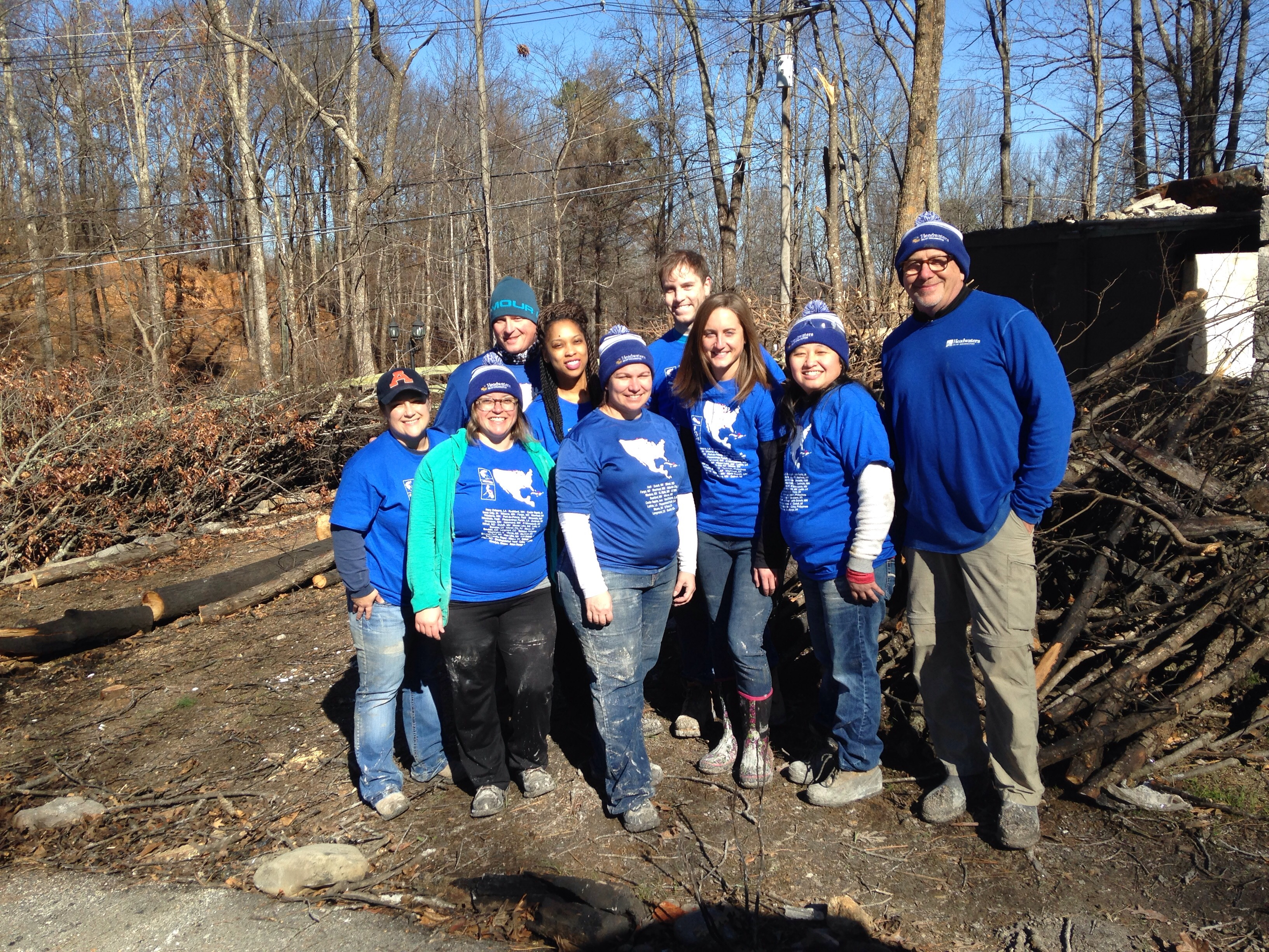Headwater volunteers